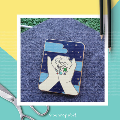 Enamel Pin: Under The Starlight