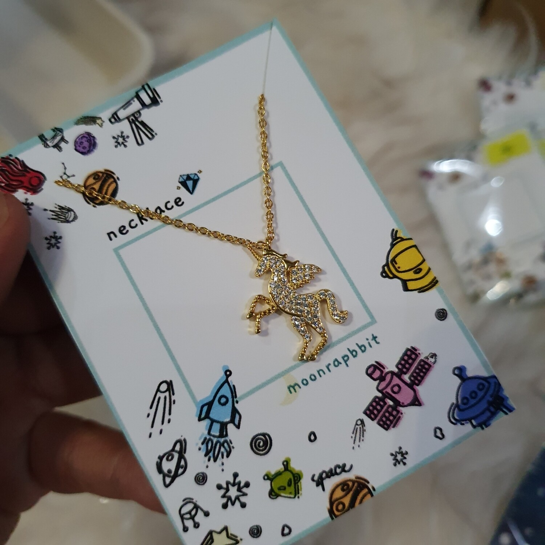 Necklace: Jewel Unicorn