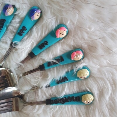 Utensils: Spoon and Fork SHINee
