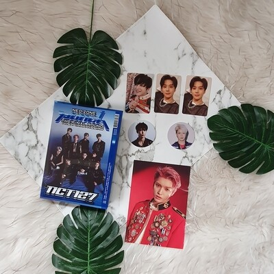 NCT ALBUM PUNCH THE FINAL ROUND OFFICIAL UNSEALED ONHAND