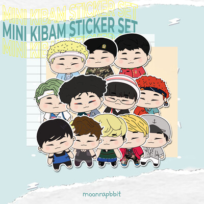 Mini Kibum Sticker Set