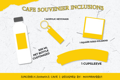 CAFE SOUVENIR KIT
