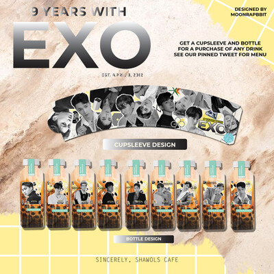 9 YEARS WITH EXO CUPSLEEVE KIT