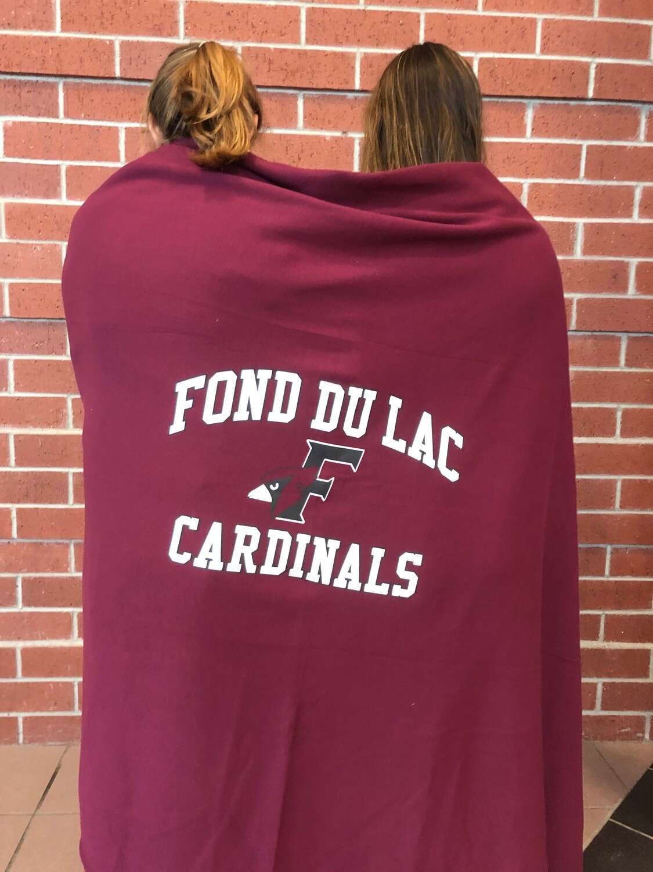 Cardinal Blanket