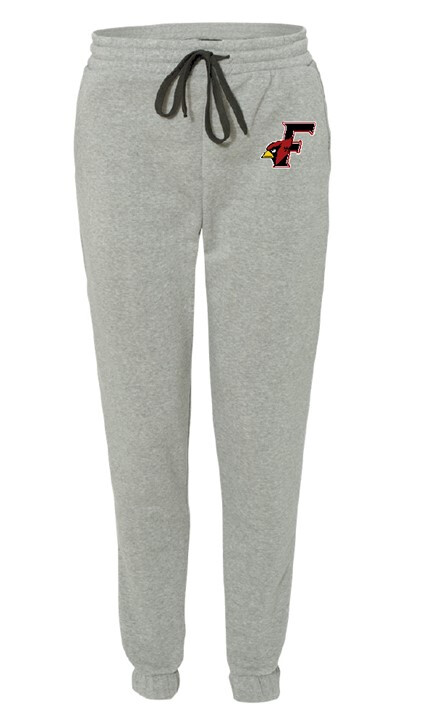 Youth Grey Cardinal Head Joggers