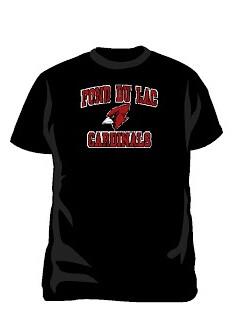 Youth Black Cardinal Head T-Shirt