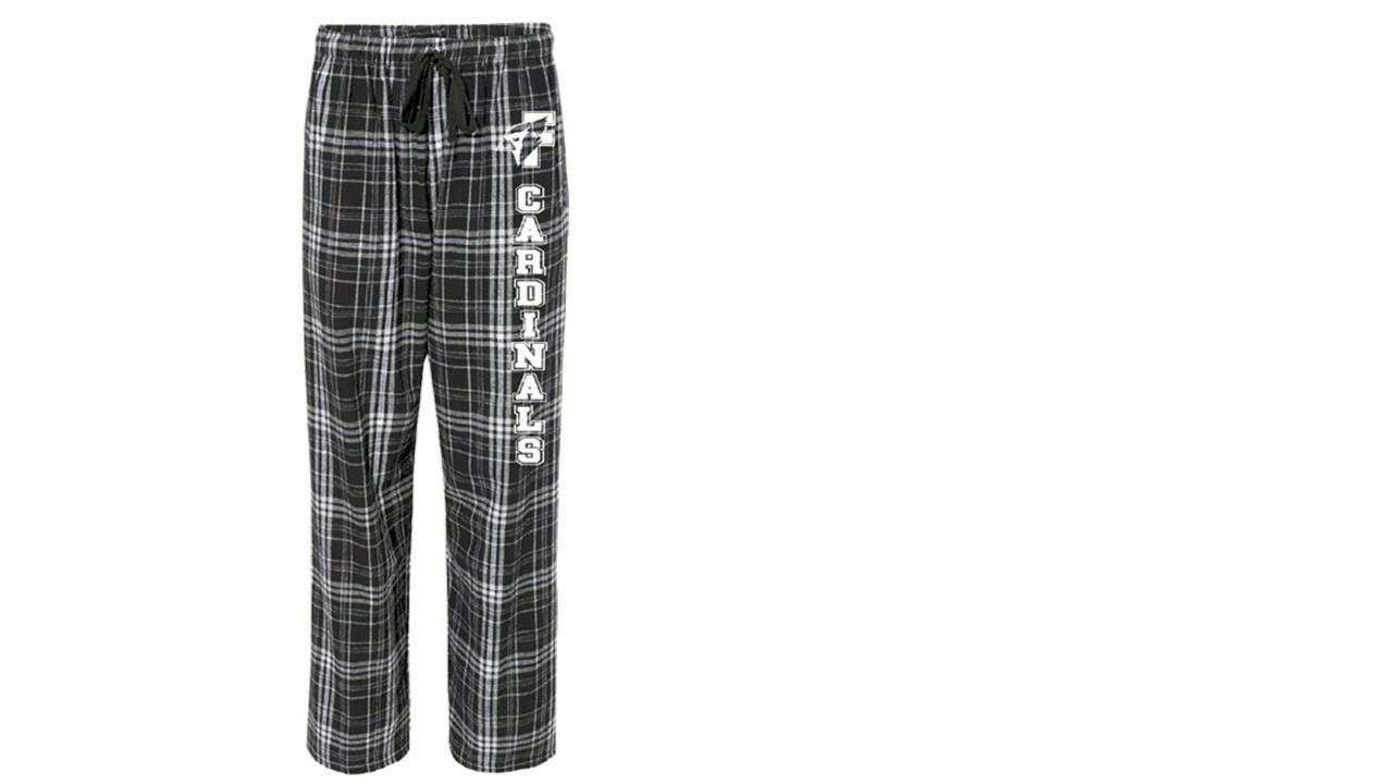 Black Cardinal Pajama Bottoms