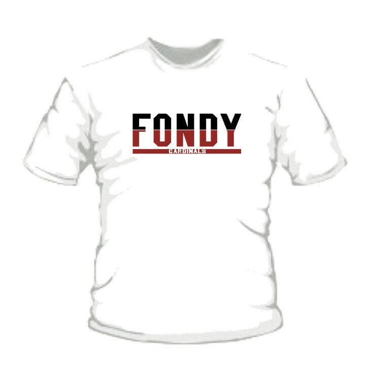 Youth White FONDY T-Shirt