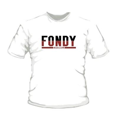 Youth White FONDY T-Shirt