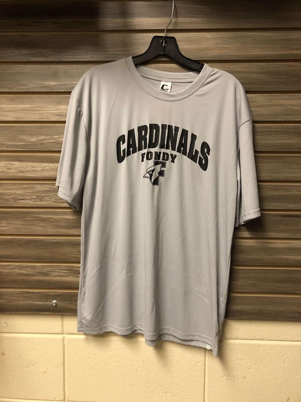 C2 Grey Athletic Cardinals T-Shirt (Large)