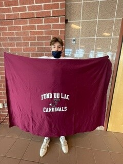 Fond du Lac Cardinals Blanket