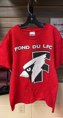 Youth Red Future Cardinal T-Shirt (Large)