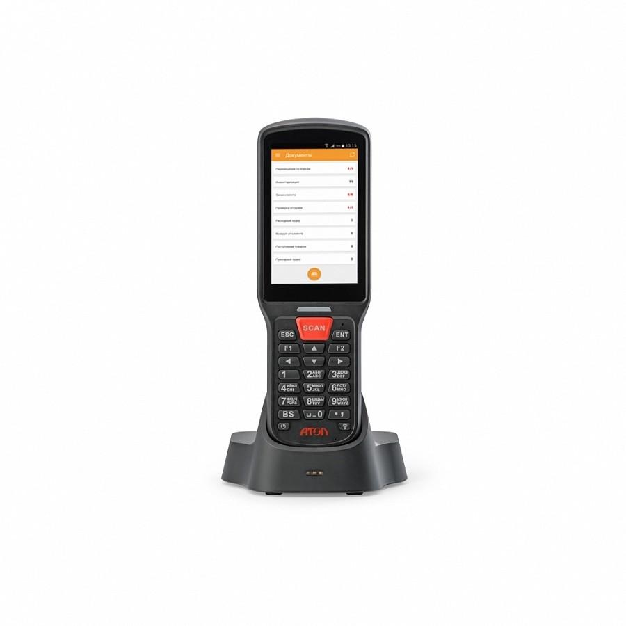 "Мобильный терминал АТОЛ SMART.Lite (Android 7.0, 2D Imager SE4710, 4"", 2Гбх16Гб, Wi-Fi b/g/n, 5200 mAh, Bluetooth, БП)"