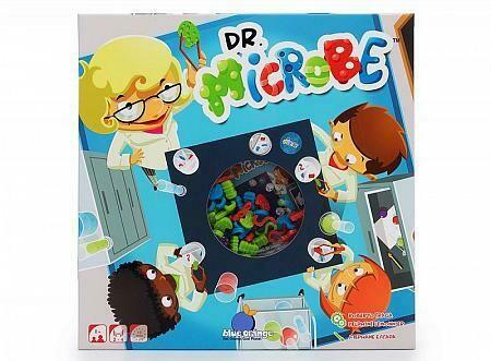 """Настольная игра """"DR.MICROBE"""" blue orange"""
