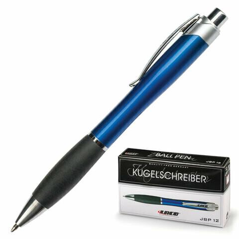 Авторучка шариковая 1мм LACO JBP 12 синяя