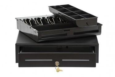Денежный ящик EC-410-B черный 410*415*100 24V