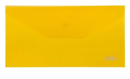 Папка-конверт с кнопкой С6 180 мкм HATBER 32614, 32610 ассорти