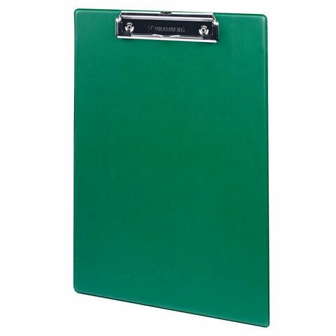 """Планшет с прижимом А4 BRAUBERG """"Number One"""" 232222 зеленый"""