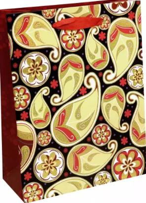 """Пакет подарочный 18*23*8 MAZARI """"Яркие краски"""" M-8132"""