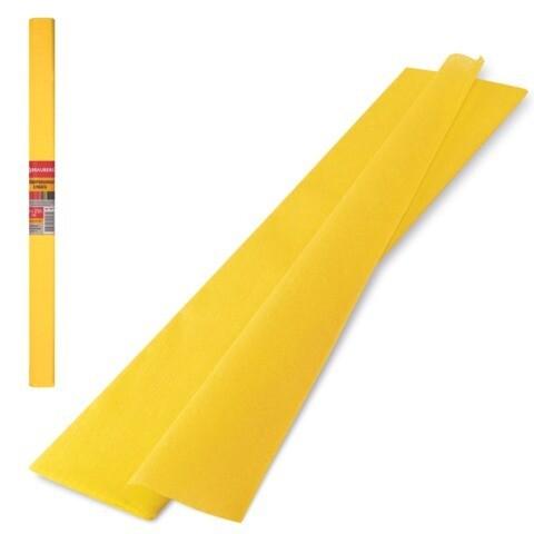 Бумага цветная жатая в рулоне 2 м
