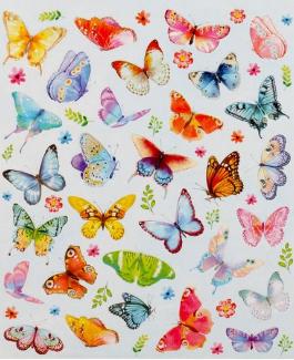 """Наклейки декоративные """"Бабочки"""" 1767464"""
