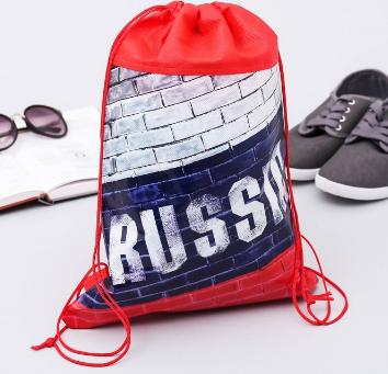 """Мешок для сменки """"RUSSIA"""" 26*37,5 см  2480062"""
