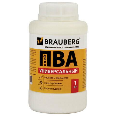 Клей ПВА 1000 мл BRAUBERG 600983