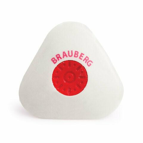 """Резинка стирательная BRAUBERG """"Energy"""" треугольная с держателем 222473"""