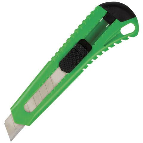 Нож канцелярский 18мм BRAUBERG 230917