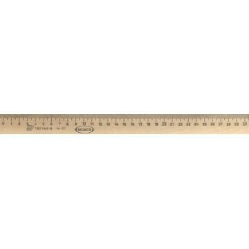Линейка деревянная 30 см Можга ЛП-300