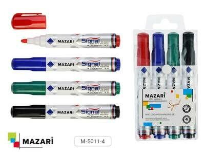 Набор маркеров д/доски MAZARI
