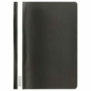 Скоросшиватель А4 ERICH KRAUSE пластик плотный 30660 черный