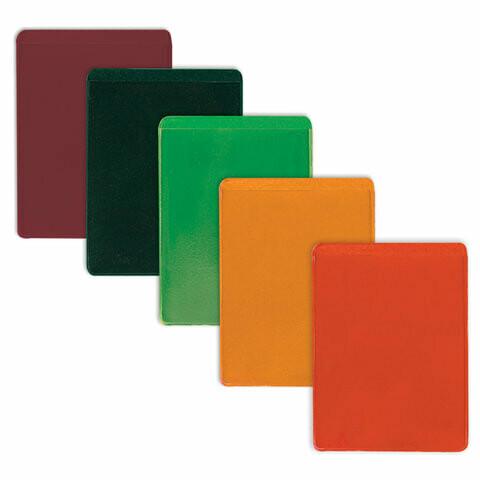 Обложка-карман для проездных документов 69*92мм ДПС ПВХ 235880