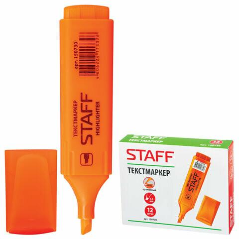 Текстмаркер 1-5 мм STAFF 150730 оранжевый