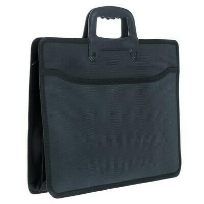 Портфель А4 1 отделение YIWU пластик 413253 черный