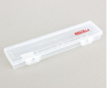 Пенал для кистей СТАММ 350x85x35мм  пластик ПН81