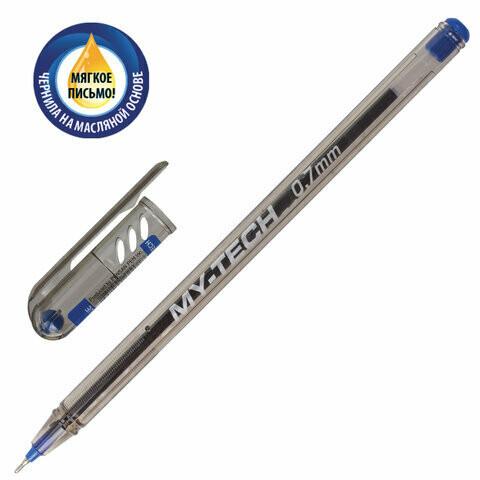 """Ручка масляная 0.7мм PENSAN """"My Tech"""" игольч.узел 2240 синяя"""