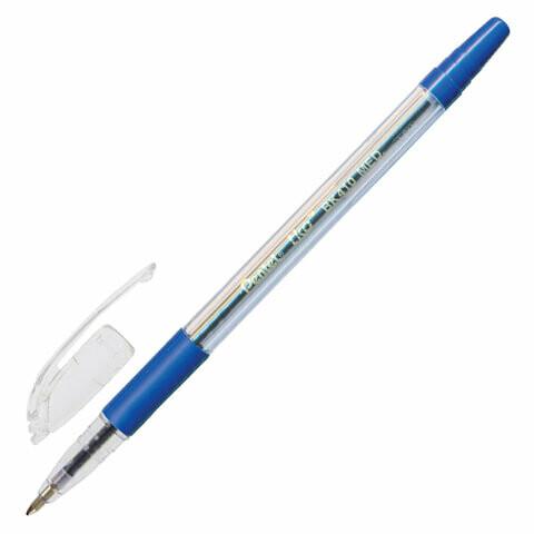 """Ручка масляная 1мм PENTEL """"TKO"""" K410-CN 142663 синяя"""