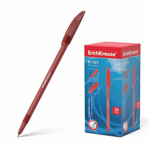 """Ручка шариковая 0.5мм ERICH KRAUSE """"R-101"""" EK33513 красная"""