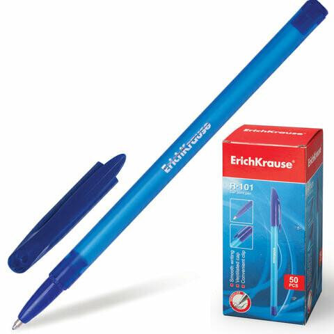 "Ручка шариковая 0.5мм ERICH KRAUSE ""R-101"" EK33511 синяя"