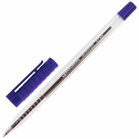 """Ручка шариковая 0.7мм BRAUBERG """"Samurai"""" с грипом 141031"""