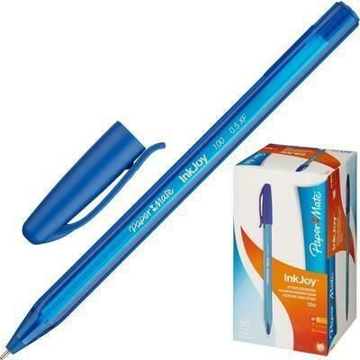 """Ручка шариковая PAPER&MATE """"InkJoy"""",голубая"""
