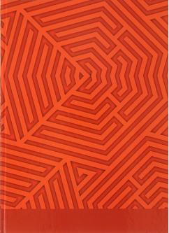 "Тетрадь 80л клетка А4 CALLIGRATA ""Геометрия"" тв.обл. 5цв.блок 3137383"