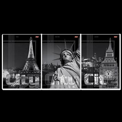 """Тетрадь 96л линия А4 HATBER """"City Collection"""" 401655"""