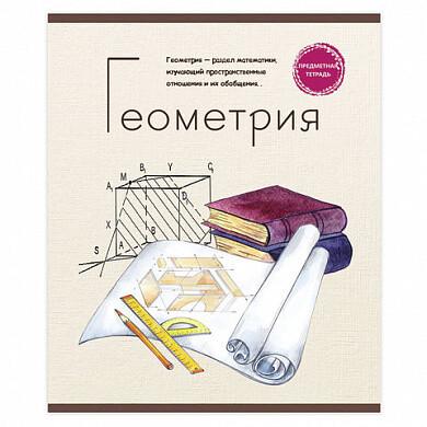 """Тетрадь предметная 48л клетка А5 PROF-PRESS """"Геометрия"""" 403310"""