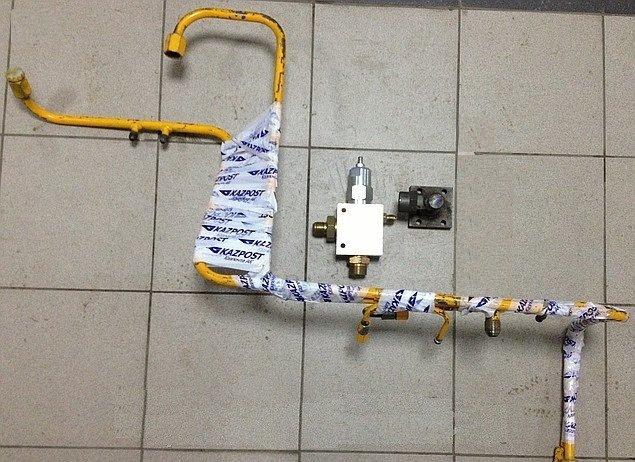 Гидроблок уравновешивающий с комплектом установочных элементов
