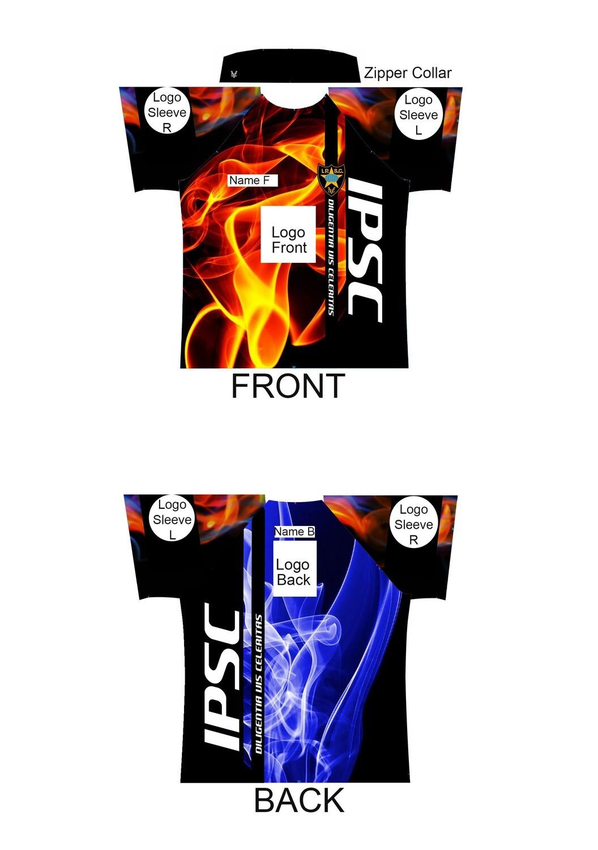 IPSC Shirt Template