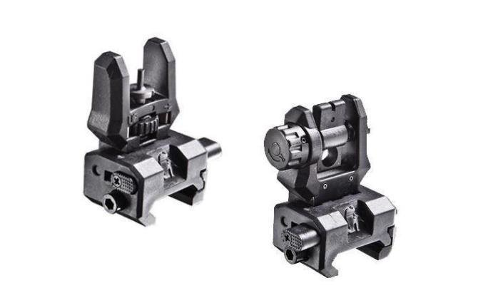 CAA Polymer Flip Up Sight Set