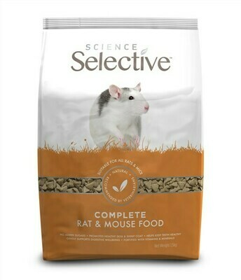 SUPREME PETFOODS SCIENCE SELECTIVE RAT
