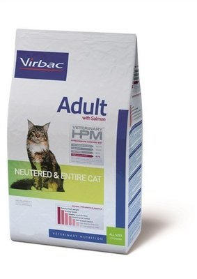 VIRBAC HPM FELINE NEUTERED/ENTIRE ADULT SALMON